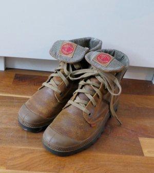 Palladium - Sneaker / Boots - Leder - Gr. 39 #Glencheck