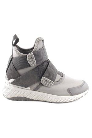 Palladium Sneaker Klettverschluss grau-schwarz