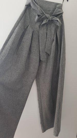 SheIn Pantalon palazzo gris clair-gris