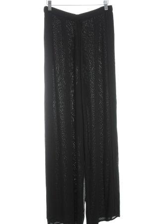 Pallazzohose schwarz Elegant