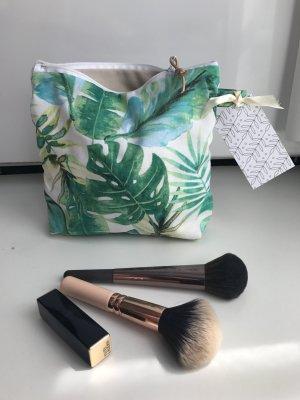 Palmen Print Tasche Grün Kosmetiktasche Kosmetik Mäppchen Kulturtasche