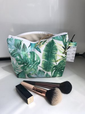 Palmen Tasche Kosmetiktasche Reise Mäppchen Geschenk Blogger neu