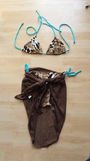 Palmers/ Bikini mit Pareo