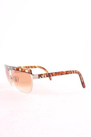 Paloma Picasso eckige Sonnenbrille mehrfarbig Vintage-Look