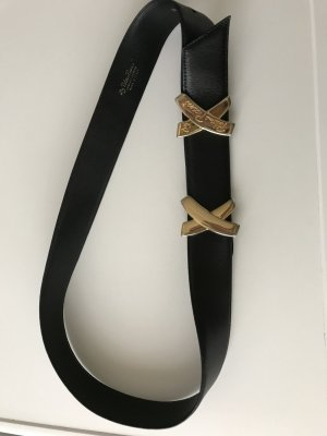 Studio Paloma Leather Belt black leather