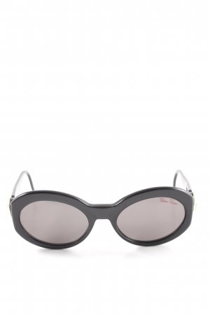 Paloma Picasso runde Sonnenbrille schwarz Casual-Look