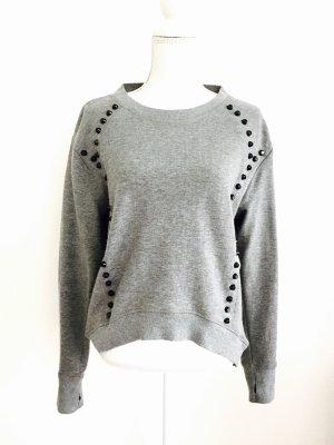 Sweater grey-black