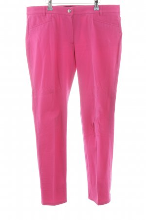 Pamela Henson Pantalón de pinza alto rosa look casual