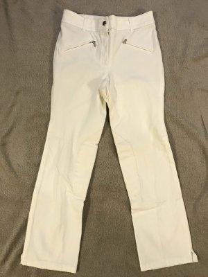 Pamela Henson Riding Trousers white
