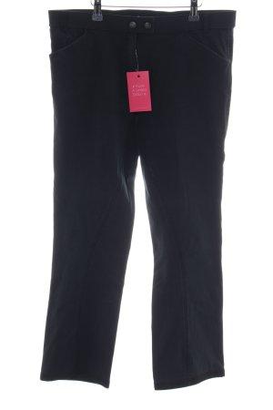 Pamela Henson Straight-Leg Jeans schwarz Casual-Look