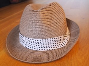 Pieces Panama Hat multicolored