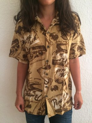 Panama jack Short Sleeve Shirt nude-light brown