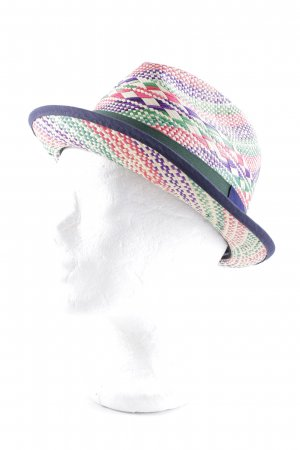 Panama Hat abstract pattern casual look