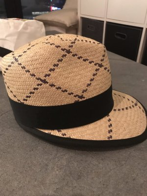 Panama Hat cream-black