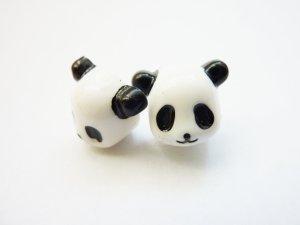 Panda Ohrringe Ohrstecker