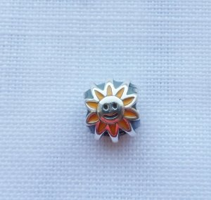 Pandora 790532EN20 Sonne gelbe Emaille