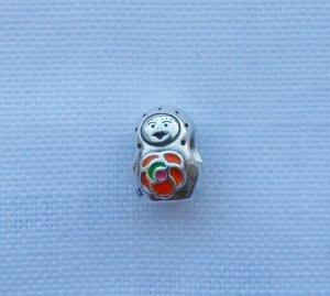 Pandora 790582ER Matroschka mit bunter Emaille