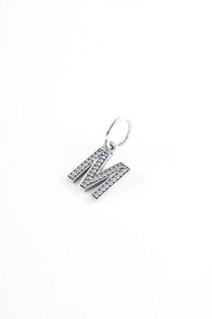 Pandora Pendant silver-colored glittery