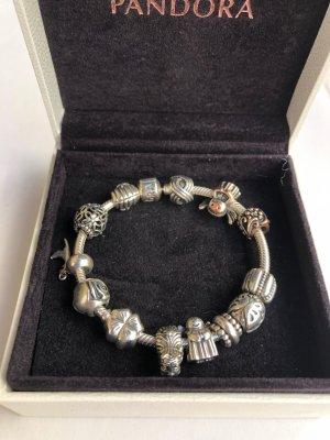 Pandora Silver Bracelet light grey real silver