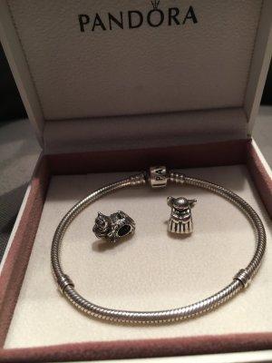 Pandora Armband + 2 Anhänger
