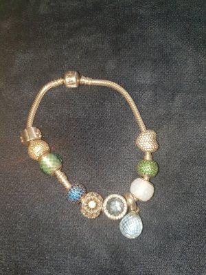 Pandora Zilveren armband veelkleurig
