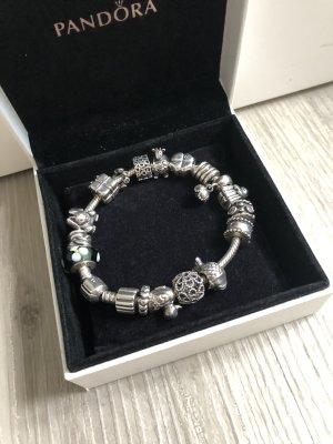 Pandora Bracelet silver-colored real silver