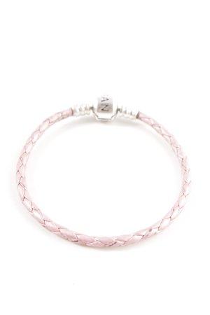 Pandora Braccialetto sottile rosa stile casual