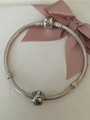 Pandora Armband inkl charm Silber