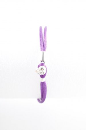 Pandora Armband lila-silberfarben Casual-Look