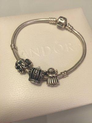 PANDORA Armband mit 3 Charms