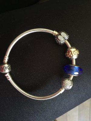 Pandora armband mit 4 Charms