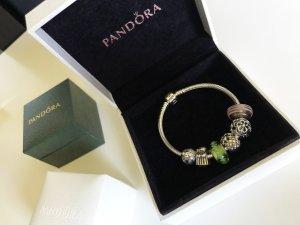 Pandora Armband mit 6 Anhängern