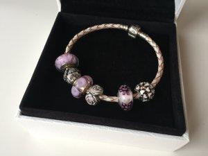 Pandora Armband mit 6 Charms