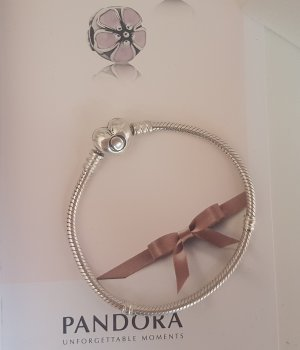 Pandora Charm Bracelet silver-colored real silver
