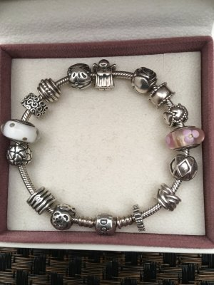 Pandora Arm Decoration silver-colored real silver