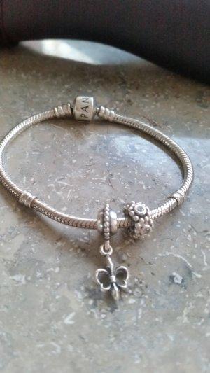 Pandora Armband Schlangenarmband 2 Anhänger