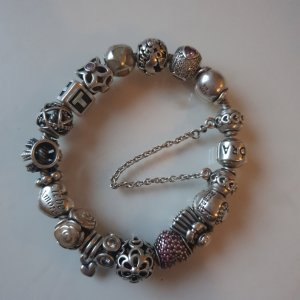 Pandora Charm Bracelet silver-colored