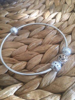 Pandora Bangle silver-colored real silver