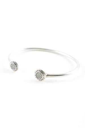 Pandora Armlet silver-colored street-fashion look
