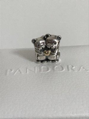 Pandora Bärenliebe Charm mit 14-K-Gold