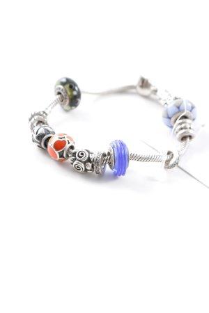 Pandora Bettelarmband mehrfarbig Ethno-Look
