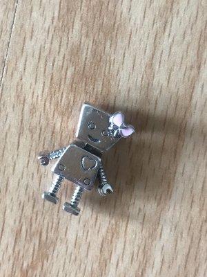 Pandora charm Bella Robot 925 Silber
