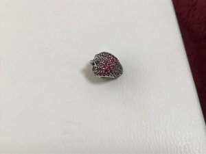 Pandora Charm Erdbeere NEU