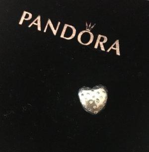 Pandora charm schimmerndes Herz
