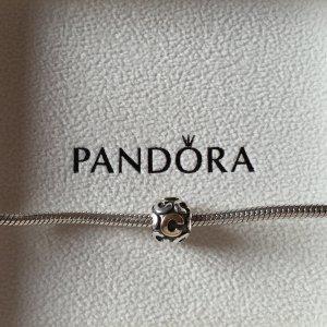 "PANDORA-Charm silber-gold ""C"""