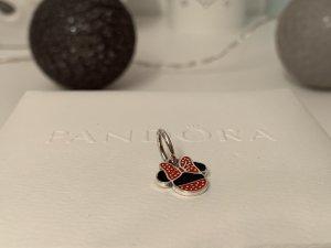 Pandora Pendentif noir-rouge