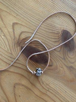 Pandora Dije color plata-marrón claro