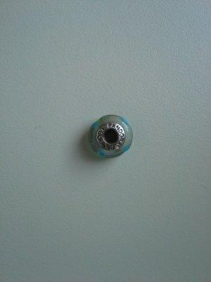 Pandora Pendentif turquoise-argenté
