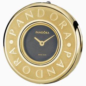 Pandora Gold Face Plated Embrace Damenuhr NEU