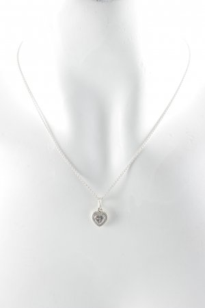 Pandora Collar color plata Herzmuster elegante